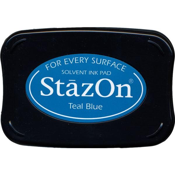 StazOn Teal Blue 63-0