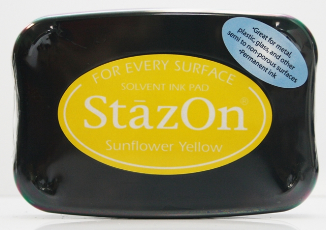 StazOn Sunflower Yellow 93-0
