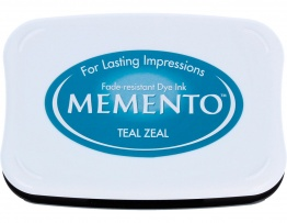 """""""602 Teal Zeal"""" Memento-0"""