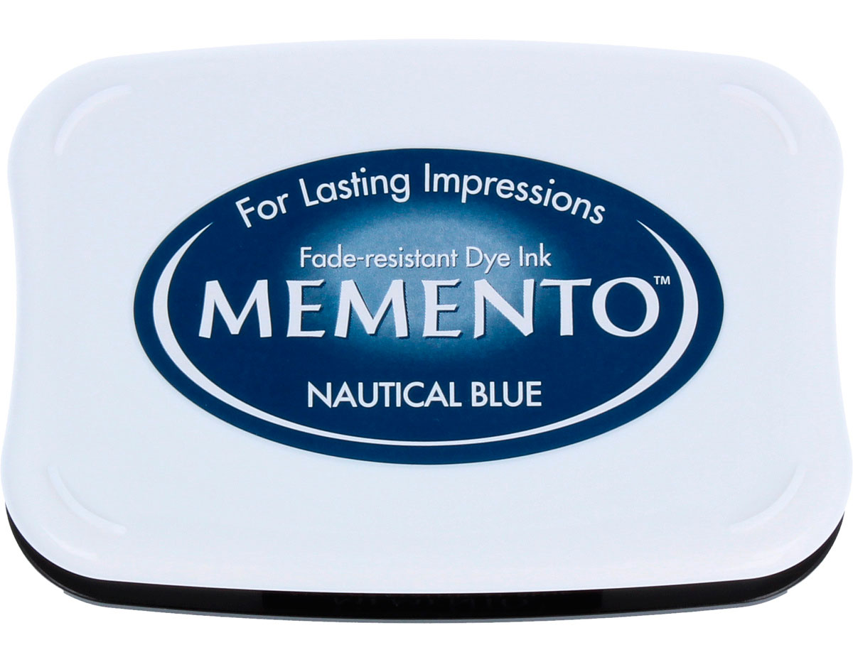 """607 Nautical blue"" Memento-0"