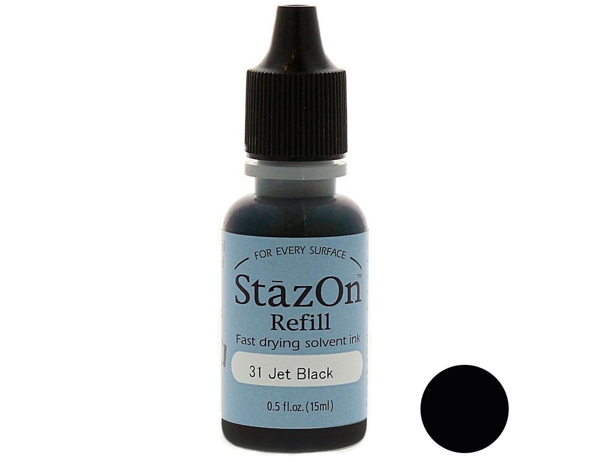 StazOn Jet Black -0