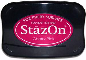 StazOn Cherry Pink 81-0